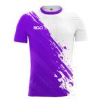 біло-фіолетовий