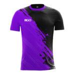 чорно-фіолетовий
