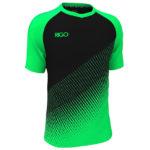 зелено-чорний