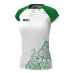 біло-зелений