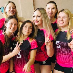 Волейбольна футболка жіноча Rigo Magic